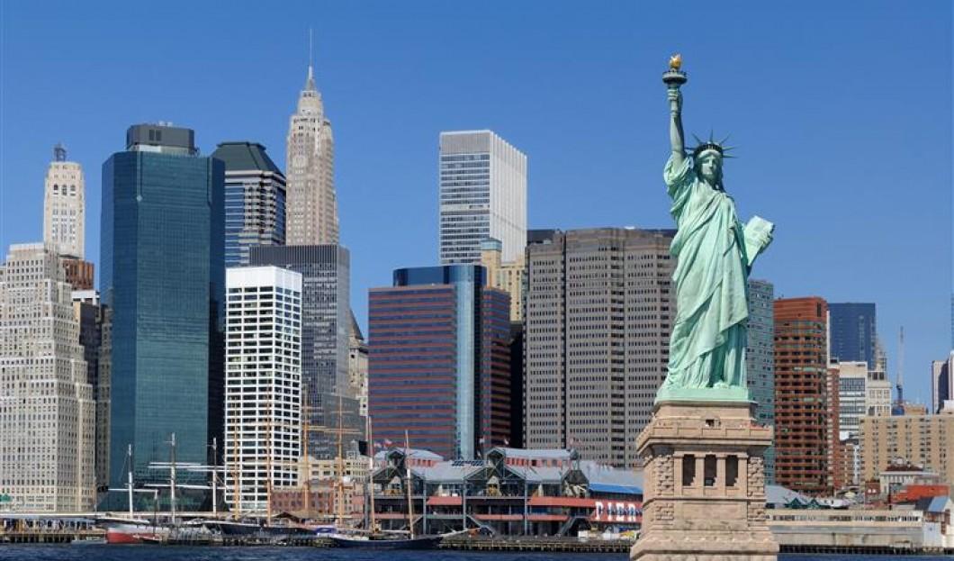 7) Socha svobody, NYC, USA