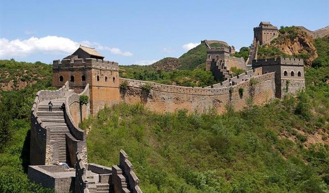 2) Velká čínská zeď, Čína