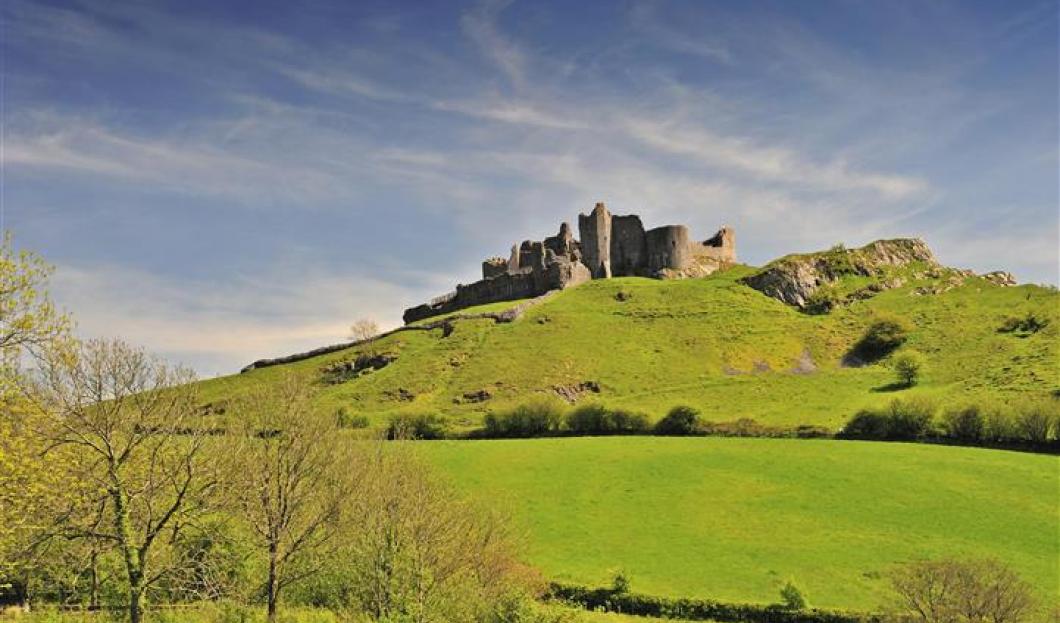 Hrad Carreg Cennen, Wales
