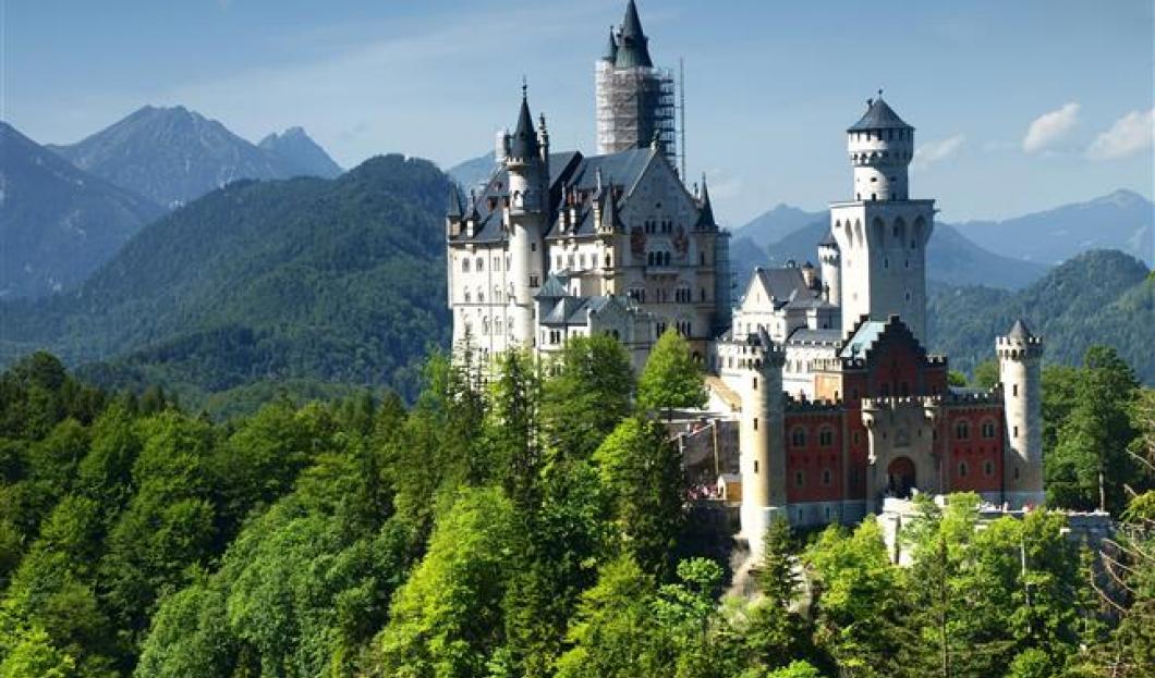 Hrad Neuschwanstein Castle, Německo