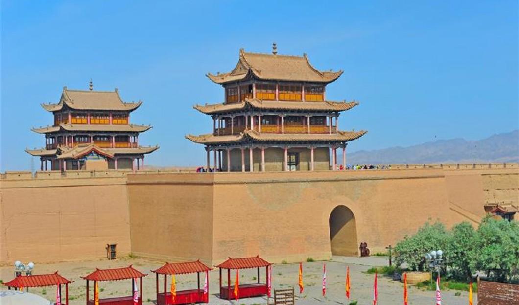 3. Velká zeď v Ťia-ju-kuan