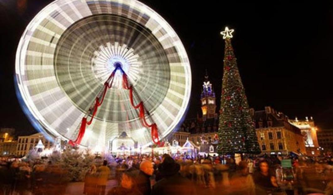 Vánoční trhy v Lille