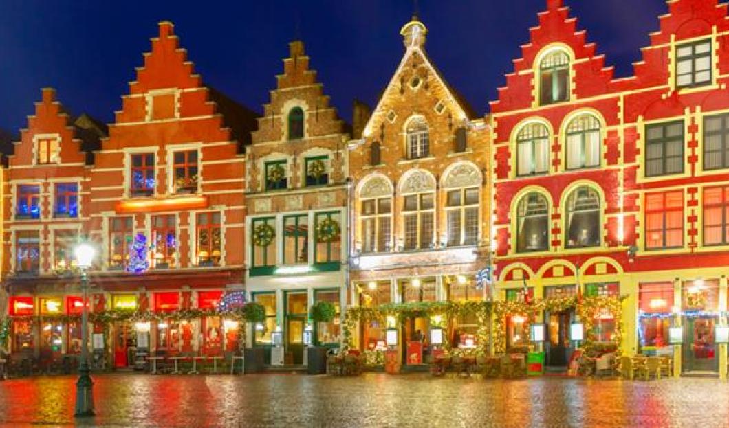 Vánoční trhy v Bruggách